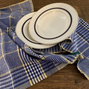 Hand-Woven Dishtowels and Tableware